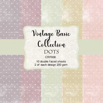 Reprint Paper Pack Stripes Vintage Collection