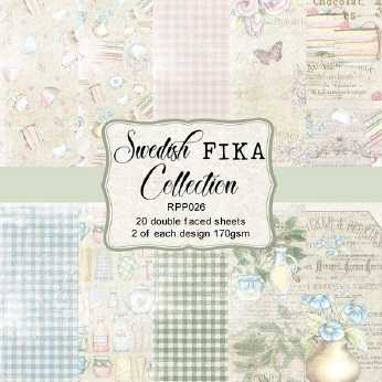 Reprint Paper Pack Swedish Fika Collection 6x6