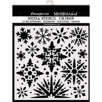 Stamperia Stencil Christmas Tree