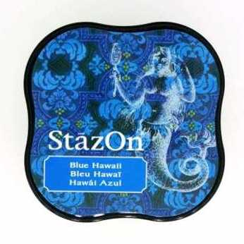 StazOn Midi Blue Hawaii