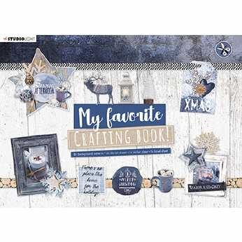 A4 Crafting Book Snowy Afternoon
