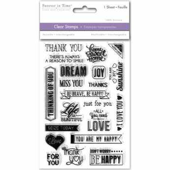 MultiCraft Clearstamps Sentiments