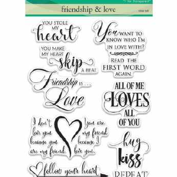 Penny Black Textstempel All about love