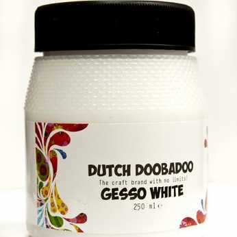 Dutch Doobadoo Gesso White