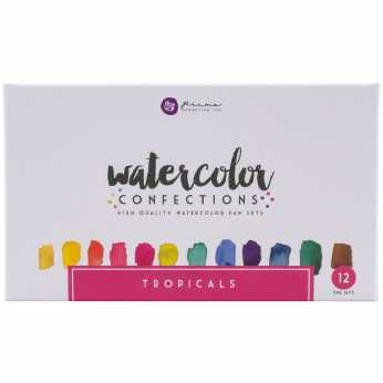 Prima Watercolor Confections Pan Set Tropicals