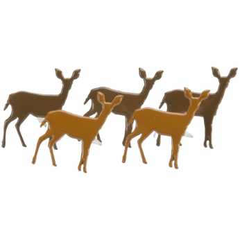 Eyelet Outlet Brads Deer