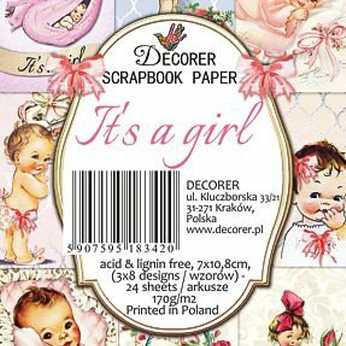Decorer Mini Paper Pack Cherubs