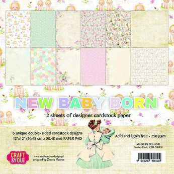 Craft & You Design Paper Pad Dream Ceremony 12x12""