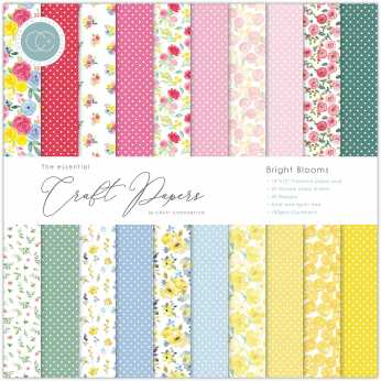 Craft Consortium Papierblock Bloom & Wild 12x12""