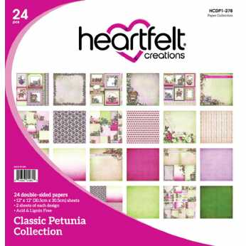 Heartfelt Creations Paper Pad Classic Rose