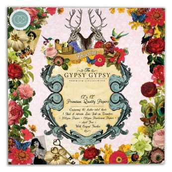 Craft Consortium Papierblock Bloom & Wild 6x6""