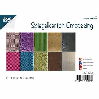 Joy Crafts Spiegelkarton Embossing