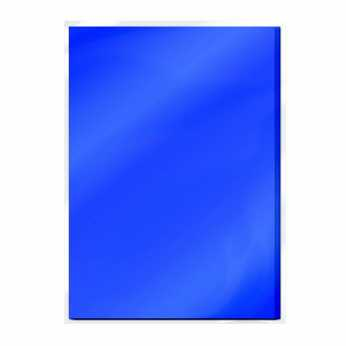 Tonic Mirror Card Cobalt Velour - Satin Effect