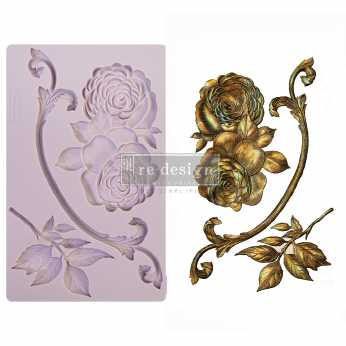Prima re-design Decor Moulds Victorian Rose