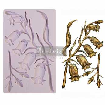 Prima re-design Decor Moulds Sweet Bellflower