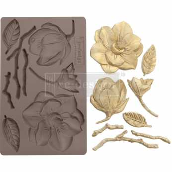 Prima re-design Decor Moulds Winter Blooms