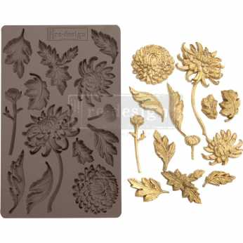 Prima re-design Decor Moulds Botanist Floral