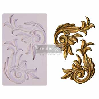 Prima re-design Decor Moulds Antique Scrolls