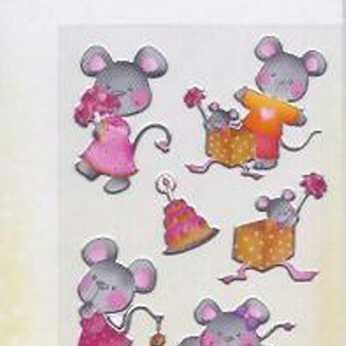 Kiddy-Stickers Mausi II