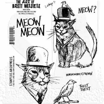 Stampers Anonymous Mister Meow Meow & Tweets