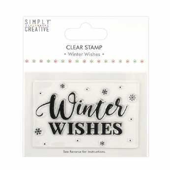 Simply Creative Clear Stamp Winter Wishes