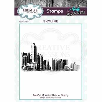 Creative Expressions Stempel Skyline